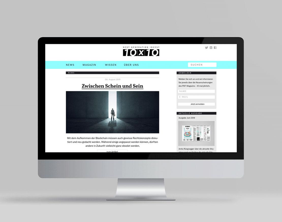 10x10 Website