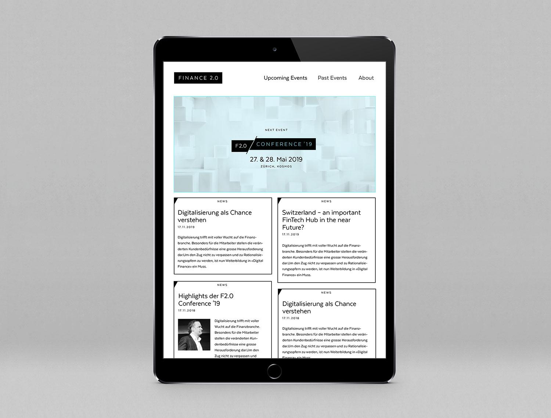 Finance20-Website